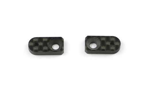 Serpent 401680 - 4X - Roll damper support 8mm carbon (2 pieces)