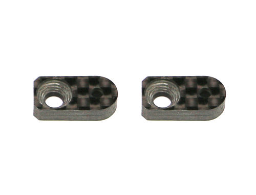 Serpent 401717 - 4X - Roll damper support -7mm carbon (2 pieces)