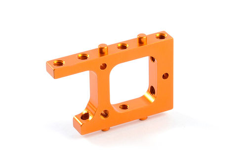 XRAY 306204-O - T4 2017 Alu Servo Mount - Orange