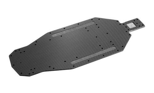 XRAY 321102 - XRAY XB2 - Tuning Carbon Chassis Platte - 2.5mm
