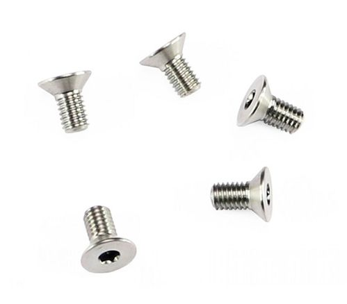 Arrowmax 640002 - Ti64 Titanium Screw allen countersunk M3x6mm (5 pieces)