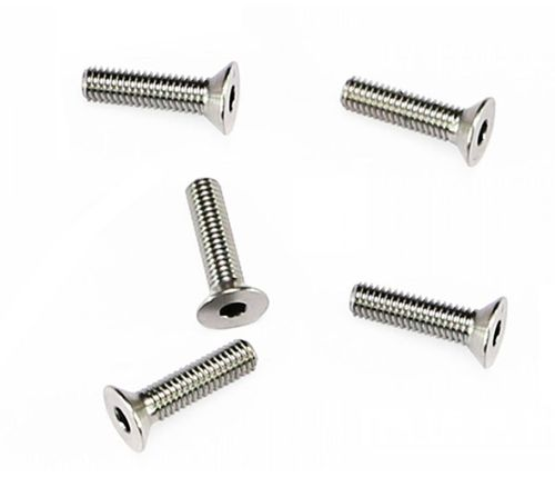 Arrowmax 640006 - Ti64 Titanium Screw allen countersunk M3x14mm (5 pieces)