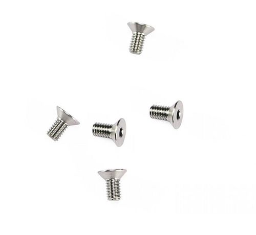 Arrowmax 640010 - Ti64 Titanium Screw allen countersunk M4x8mm (5 pieces)
