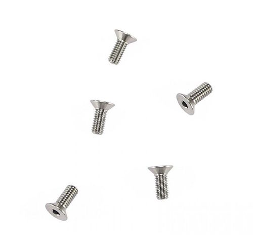 Arrowmax 640011 - Ti64 Titanium Screw allen countersunk M4x10mm (5 pieces)
