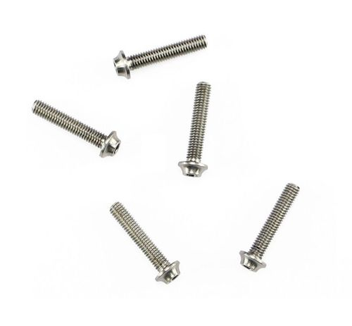 Arrowmax 640037 - Ti64 Titanium Screw allen round head M3x16mm (5 pieces)