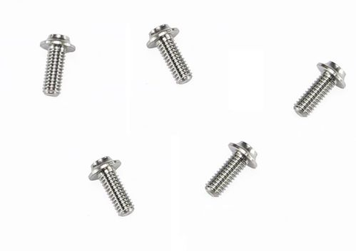 Arrowmax 640041 - Ti64 Titanium Screw allen round head M4x10mm (5 pieces)
