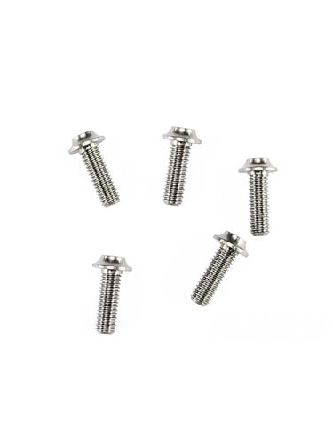 Arrowmax 640042 - Ti64 Titanium Screw allen round head M4x12mm (5 pieces)