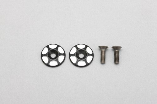 Yokomo Z2-110 - YZ-2 - Alu Rear Wing Shims (2 pcs)