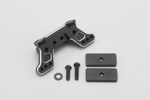 Yokomo Z2-300RUW - YZ-2 - Alu Rear Upper Suspension Mount + 2x 6g Weight