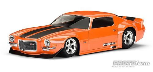 Protoform 1552-40 - 1971 Chevrolet Camaro Z28 Clear Body 200mm