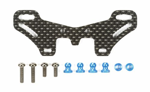 Tamiya 54633 - TT-02S - Optional Carbon Damper Stay Rear