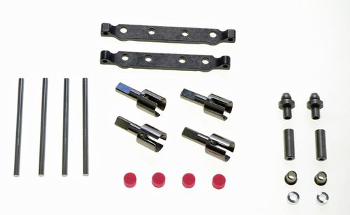Tamiya 54634 - TT-02S - Optional Steel Suspension Mount Set