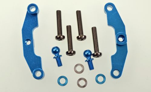 Tamiya 54651 - TT-02S - Optional Alu Upper Arm Mount (2 pcs)