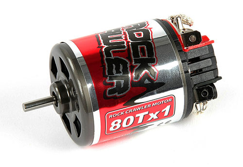 Robitronic R03101 - Rock Crawler - Brushed Motor - 80x1 Turns