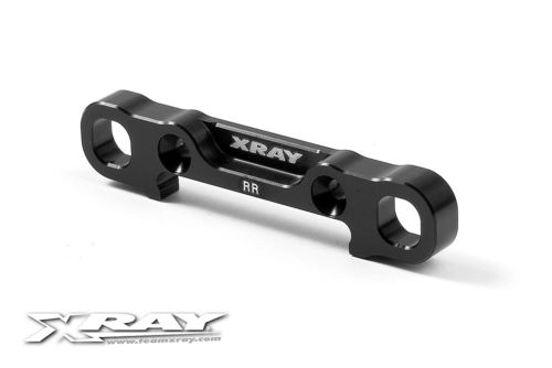 XRAY 353327 - XB8 2017 - Alu Rear Lower Susp. Holder - rear SQUARE
