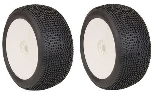 AKA 14117SRW - Impact - SOFT - 1:8 Truggy Pre-Mounted Tires (2 pcs)
