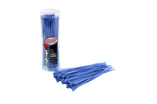 Corally 50501 - STRAP-IT - Cable fixer - blue - 2.5x100mm ( 50 pieces)