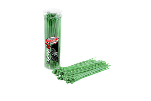 Corally 50502 - STRAP-IT - Cable fixer - green - 2.5x100mm ( 50 pieces)
