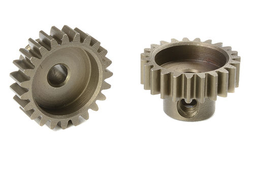 Corally 71623 - Pinion Gear hardened steel - Module M0.6 - 23 Teeth (1 piece)