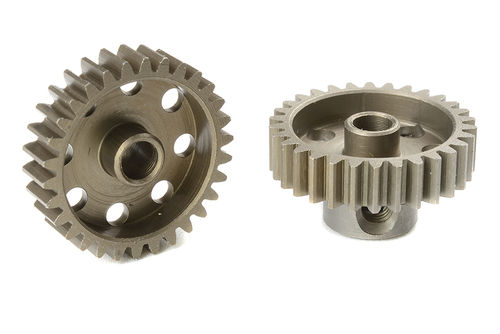 Corally 71430 - Pinion Gear hardened steel - 48 DP - 30 Teeth (1 piece)