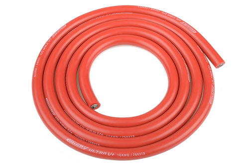 Corally 50105 - Ultra V+ Silikon Kabel - 1m rot 5.5mm - 10 AWG