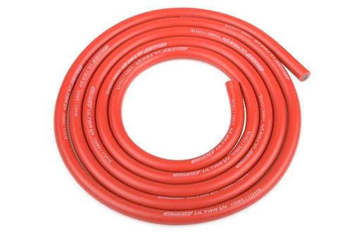 Corally 50110 - Ultra V+ Silikon Kabel - 1m rot 4.5mm - 12 AWG