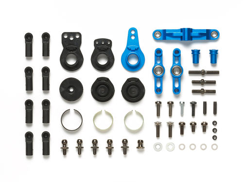 Tamiya 54752 - TT-02 - Optional Alu Steering Set - incl. Saver