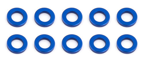 Team Associated 31382 - F6 - Alu Shims - 3x5.5x1.0mm - BLAU (10 Stück)