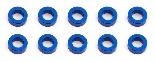 Team Associated 31383 - F6 - Alu Shims - 3x5.5x2.0mm - BLAU (10 Stück)