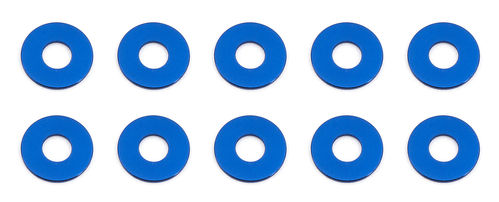 Team Associated 31384 - F6 - Alu Shims - 3x7.8x0.5mm - BLAU (10 Stück)