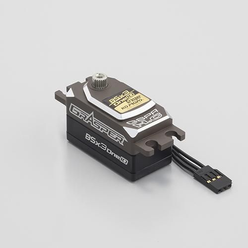 KoPropo 30214 - BSx3 one10 - Alu Brushless Digital Servo - Low-Profile