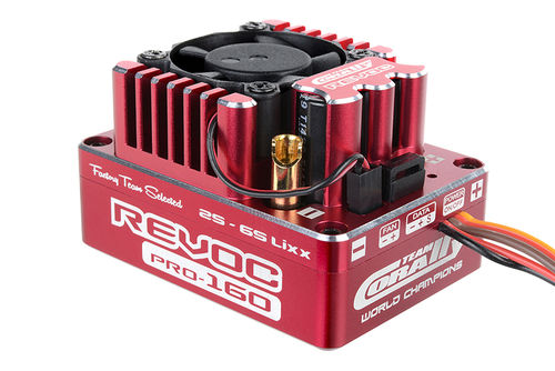 "Corally 53004 - Revoc PRO 160 ""Racing Factory"" - 2-6S Wettbewerbs Brushless Regler"