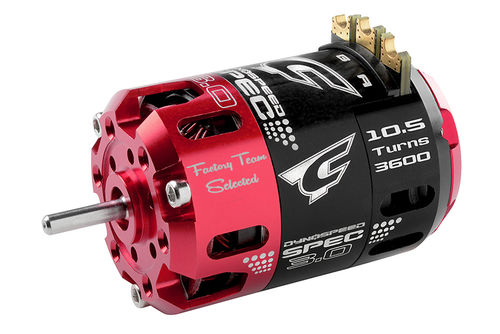 Corally 61100 - Dynospeed SPEC 3.0 1/10 Competition Brushless Motor - 10.5 Turns Stock - 3600KV