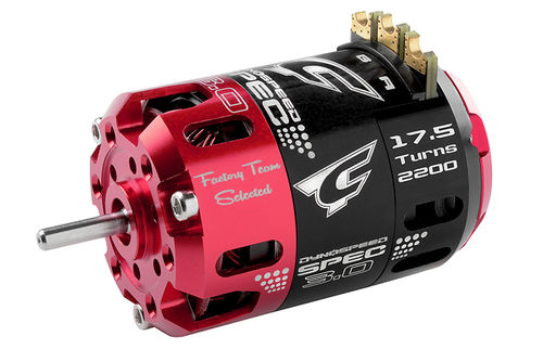 Corally 61102 - Dynospeed SPEC 3.0 1/10 Competition Brushless Motor - 17.5 Turns Stock - 2200KV