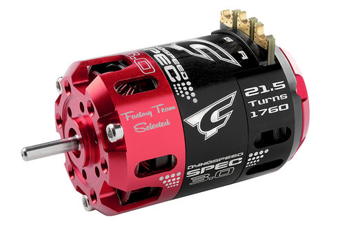 Corally 61103 - Dynospeed SPEC 3.0 1/10 Competition Brushless Motor - 21.5 Turns Stock - 1760KV