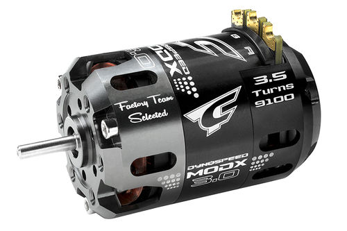 Corally 61000 - Dynospeed MODX 3.0 1/10 Competition Brushless Motor - 3.5 Turns Modified - 9100KV