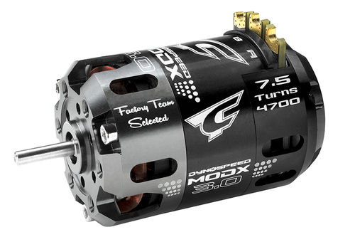 Corally 61004 - Dynospeed MODX 3.0 1/10 Competition Brushless Motor - 7.5 Turns Modified - 4700KV