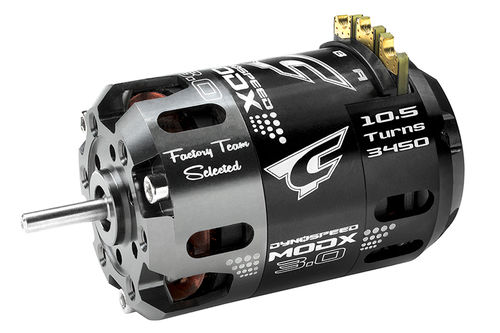 Corally 61007 - Dynospeed MODX 3.0 1/10 Competition Brushless Motor - 10.5 Turns Modified - 3450KV
