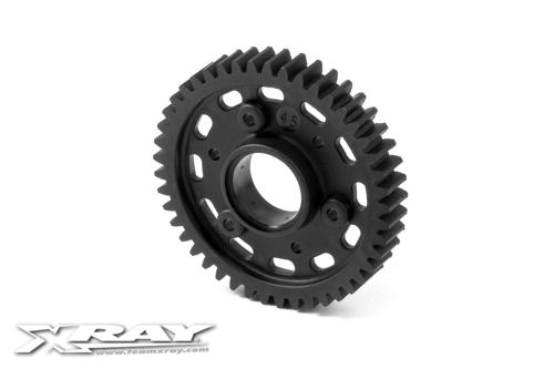 XRAY 345545 - GTX8 Composite 2-Speed Gear 45T 2nd