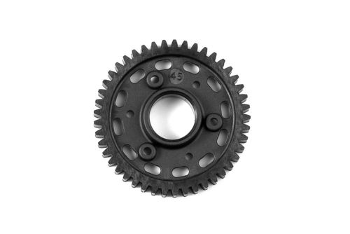 XRAY 345645 - GTX8 2-Speed Gear 45T 2nd Graphite