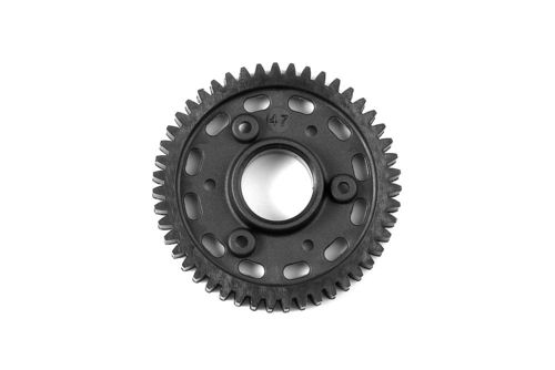XRAY 345647 - GTX8 2-Speed Gear 47T 2nd Graphite