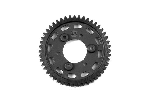XRAY 345648 - GTX8 2-Speed Gear 48T 1st Graphite