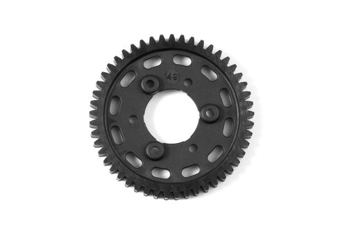 XRAY 345649 - GTX8 2-Speed Gear 49T 1st Graphite