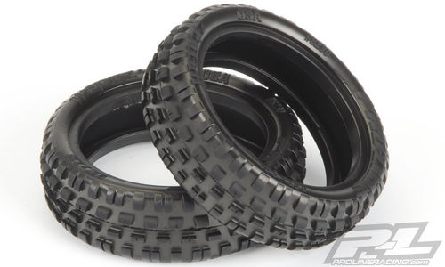 "ProLine 8230-103 - Wedge Squared 2.2"" 2WD Z3 Front Tires - Carpet - Medium Grip - 2.2"" (2 pcs)"