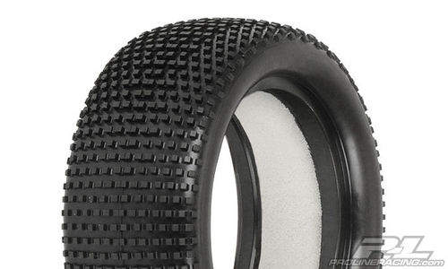"ProLine 8207-02 - Hole Shot 2.0 M3 - 4WD Front Tires (Soft) - 2.2"" (2 pcs + inserts)"