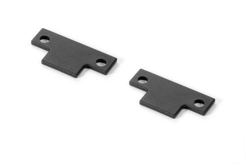 XRAY 354033 - GTX8 Composite 2-Speed Holder Plate (2 pieces)