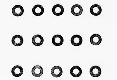Tamiya 50586 - 3mm Washer (15pcs)