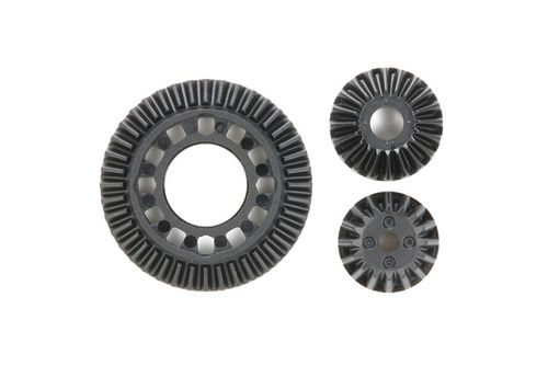 Tamiya 51547 - TB Evo 6 - Gear Diff / One Way Gear + Unit Ring Gears (1+2 pcs)