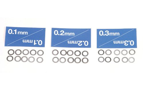 Tamiya 53587 - 5mm Shim Set (3 types / 10pcs each)