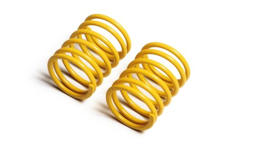 Tamiya 53631 - M-05 / M-06 / TT-01 / TT-02 - TRF Short Springs - YELLOW (2 pcs)